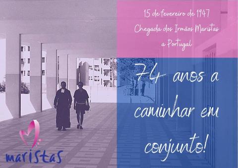 15-02-47 Chegada dos Maristas a Portugal